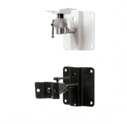 Pair of wall brackets for compact speakers