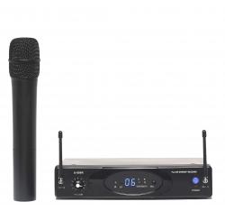 UHF diversity handheld microphone set