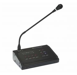Pupitre microphone d'appel 4 zones compatibles pour amplificateurs AM 4120 et AM 4240