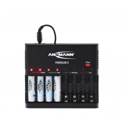 Chargeur pour 8 batteries
