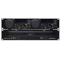 Double lecteur CD MP3 DJ PRO