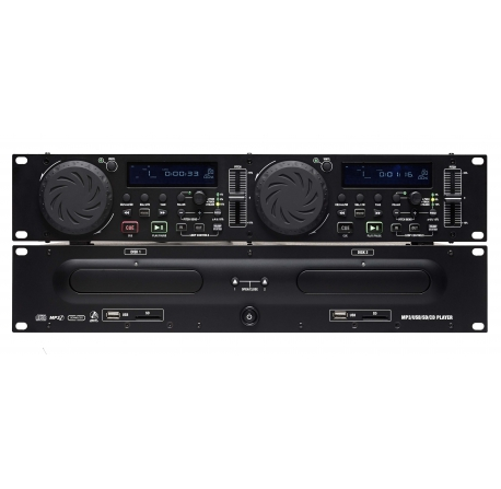 SCDJ-900 - Double lecteur CD MP3 DJ PRO