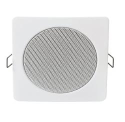 Haut-parleur plafond carre 6W en 100V