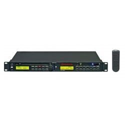 Coffret Tuner FM RDS / Bluetooth / CD MP3 avec interface USB (speed control) et SD CARD