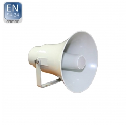 VOICE-15T / EN5424 Haut-parleur à chambre de compression certifié EN 5424