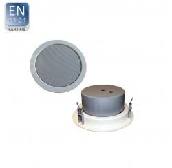 DLS-265FT-10W / EN5424 Haut-parleur plafond certifié EN 5424