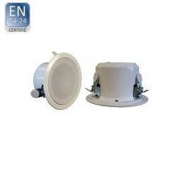 EN-180FT / EN5424 Haut-parleur plafond certifié EN 5424