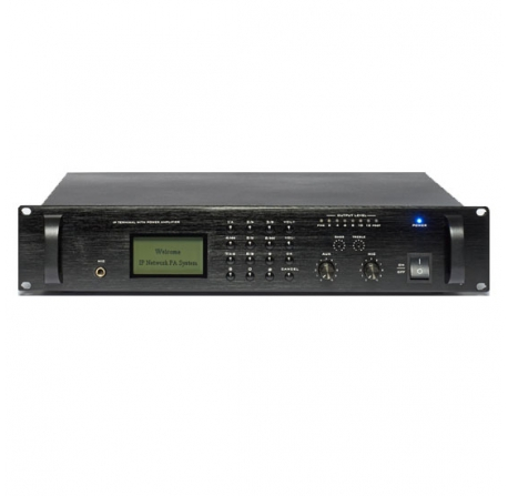 AM 120 IP-2 - amplificateur mélangeur sur IP