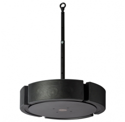 200W omnidirectional loudspeaker in black colour