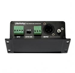 Line level speaker level adapter