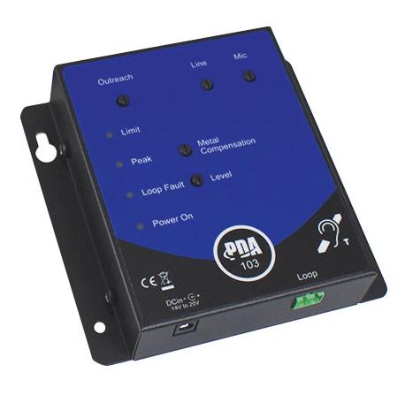 PDA103C - boucle à induction magnétique de comptoir