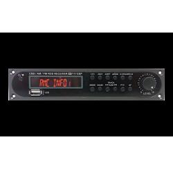 Tuner AM/FM, USB