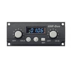 Module récepteur double UHF 16 Fréq. pr EXPERT+