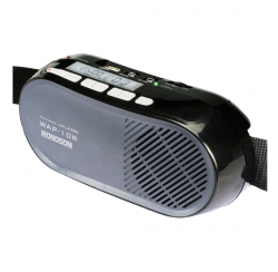 Porte-voix avec micro cravate et serre-tête
