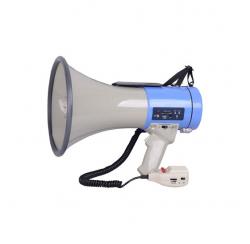 Porte voix 25W maxi. sirène. USB/SD/AUX