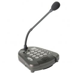 Pupitre microphone amplifié