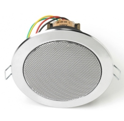 Chrome ceiling speaker 6 W