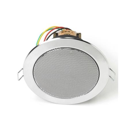 Haut-parleur plafond chrome 6 W