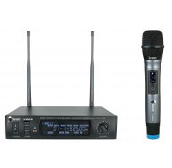 Ensemble UHF avec microphone main et boitier récepteur