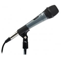 Wired dynamic microphone with balanced XLR