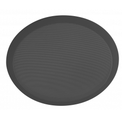 Haut-parleur encastrable noir de 6W