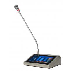 Pupitre microphone d'appel pour amplis-préamplificateurs IP