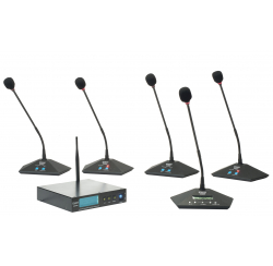 Système de conférence sans fil WDM69-2 - Valise complète