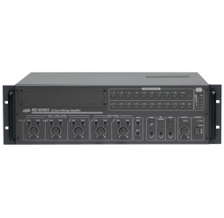 "Amplifier-preamplifier 20 zones 600W rackable 19"" in 3U"