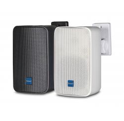 Weatherproof wall-mounted compact loudspeakers 40W