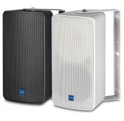 Weatherproof wall-mounted compact loudspeakers 80W