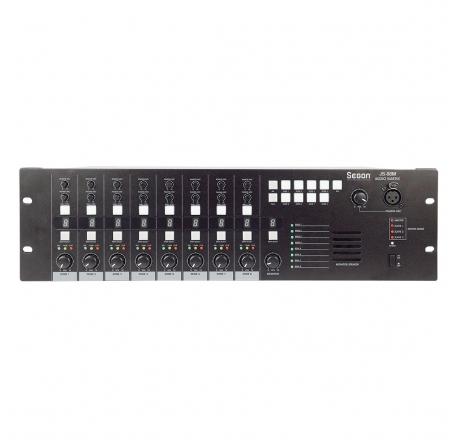 JS-88M - Matrice audio 8 entrées / 8 sorties