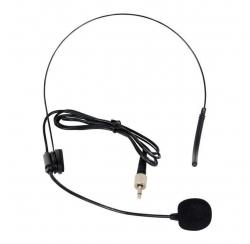 HM-68 - Microphone serre-tête électret Jack mono 3,5 mm