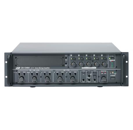 ZA 1240A - Amplificateurs préamplificateurs 5 zones