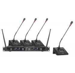 4-channel wireless conference system