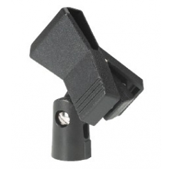 Support Pince pour microphone main