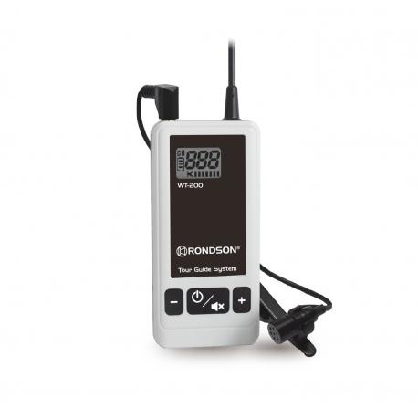 Emetteur micro cravate pour système de visite guidée WT-200