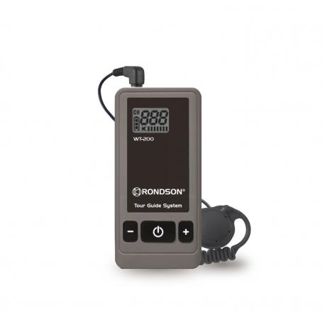 Récepteur avec oreillette pour système de visite guidée WT-200
