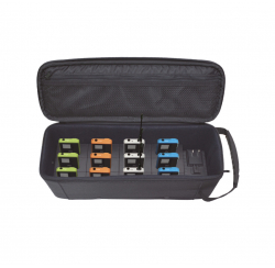 Tour guide system package WT-200 with charging case 1 transmitter and 11 receivers