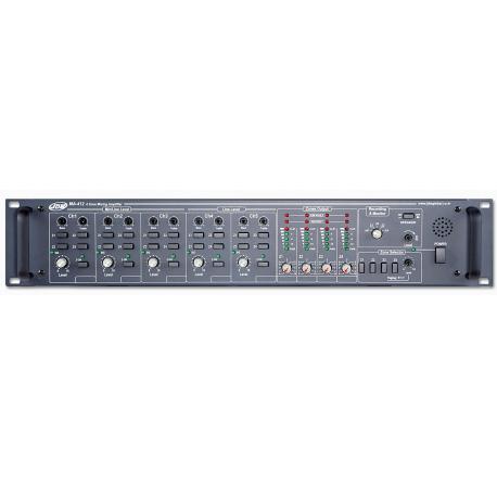 MA-406 - amplificateur matriciel 4 zones en 100V