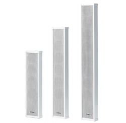 Acoustic columns 100V from 10W to 30W