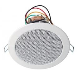 Haut parleurs plafond 6W en 100V