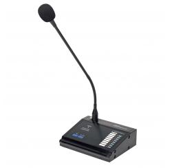 T-8000A - Pupitre micro d'appel 8 zones pour matrice T-8000