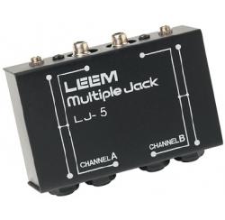 LJ 5 - Boîtier répartiteur audio prises jack et RCA