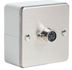 Wall-mounted housing 5-pin DIN socket