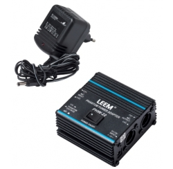 48V phantom power supply for 2 microphones with power adapter