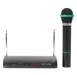 Ensemble récepteur avec microphone à main sans fil