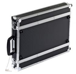 """Valise rack 1U 19"""" pour récepteur microphone HF"""