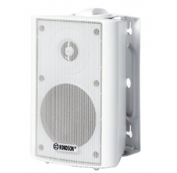 Compact 2-way white speaker systems