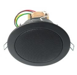 Haut parleur plafond 6W noir en 100V