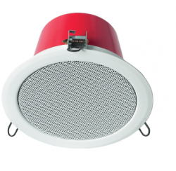 15W Ceiling speaker with steel cover